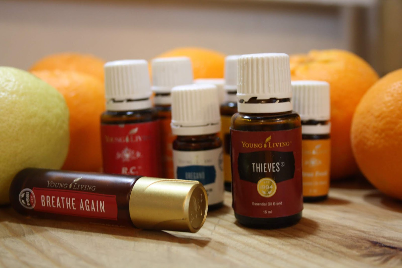 My favorite essential oils for winter